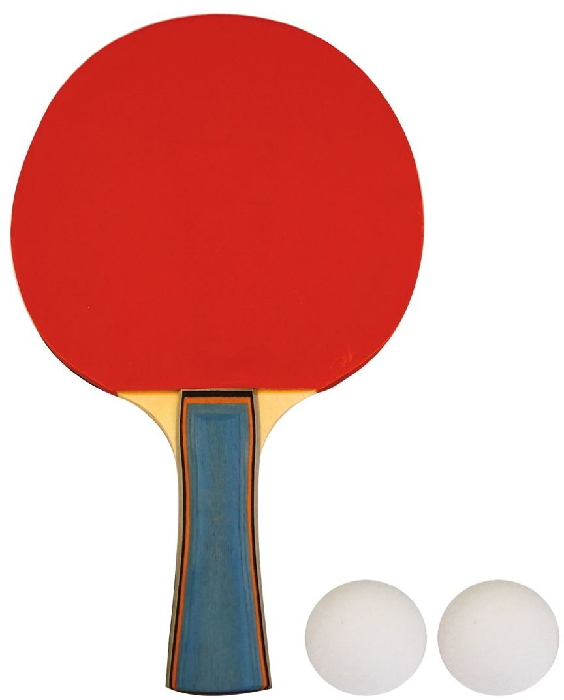 Rakietka do tenisa stołoweg z piłeczkami