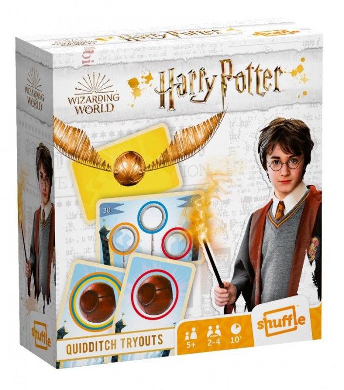 Shuffle - Plus Games Harry Potter CARTAMUNDI ZAKŁADKA DO KSIĄŻEK GRATIS DO KAŻDEGO ZAMÓWIENIA