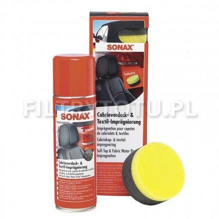 SONAX Impregnat do dachów i tapicerki w kabrioletach 250ml (310200)