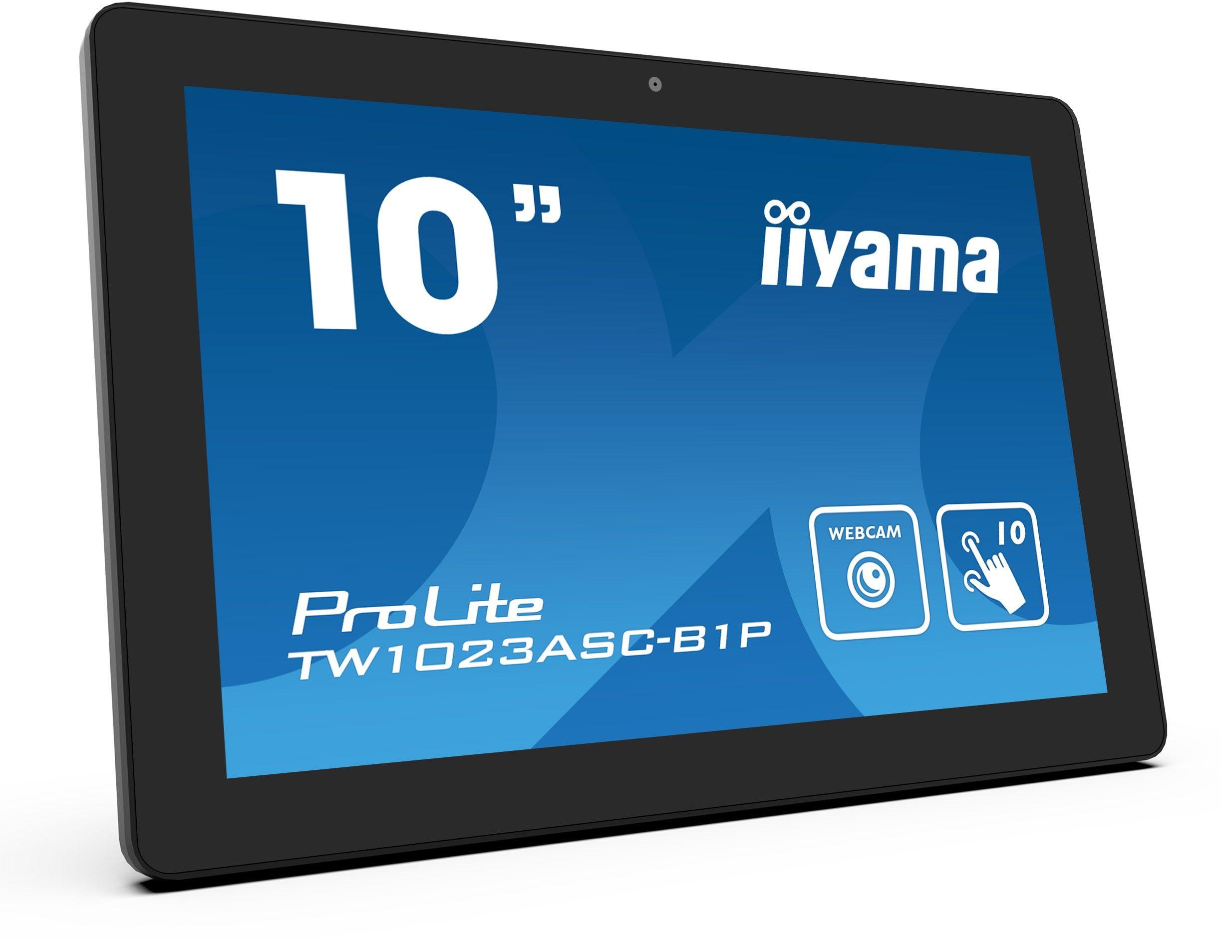 """Monitor informacyjno-reklamowy iiyama ProLite TW1023ASC-B1P 10"""" Android, PoE, Kamera, Głośniki + WYSYŁKA W 24H GRATIS !! AUTORYZOWANY SKLEP IIYAMA"""