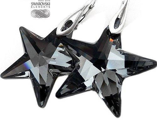 New Swarovski Kolczyki Night Star Promocja