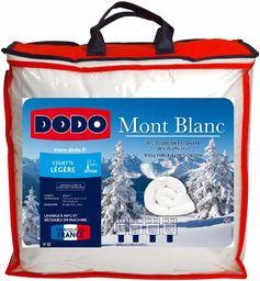 Dodo Mont kołdra pikowana, bawełna, biała, 240 x 260 cm