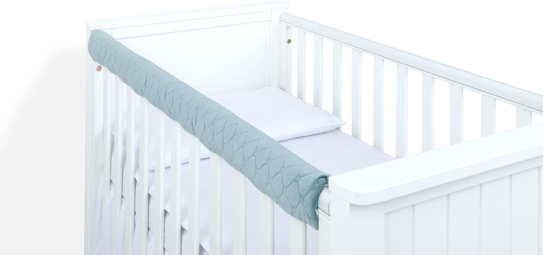 MAMO-TATO Ochraniacz na górną krawędź łóżeczka - Velvet Khaki
