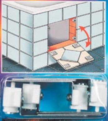 Magnetyczne uniwersalne drzwiczki pod glazurę