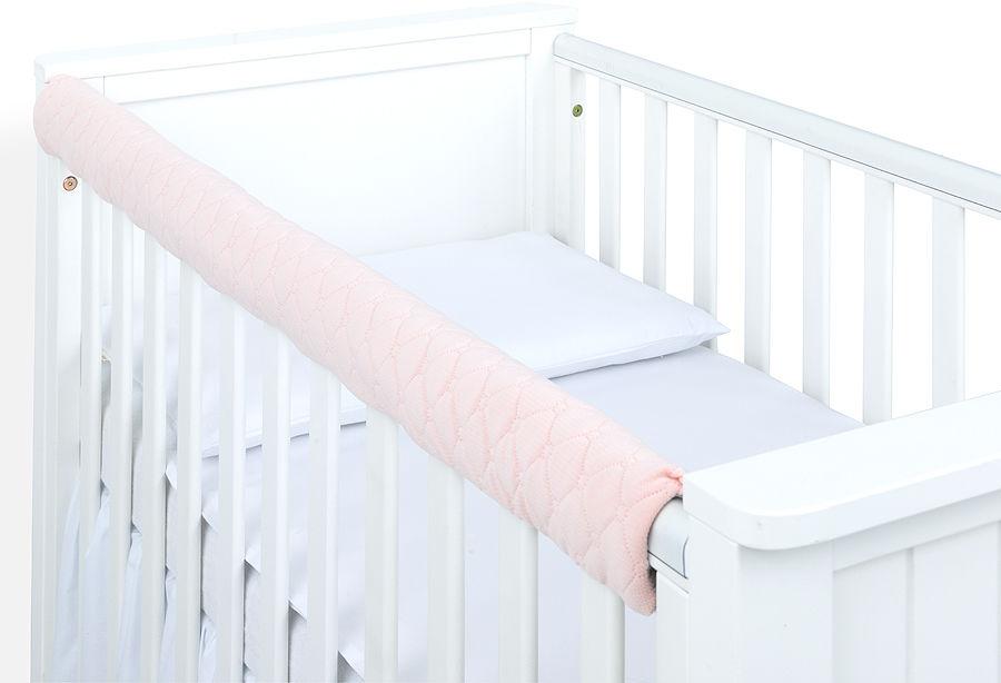 MAMO-TATO Ochraniacz na górną krawędź łóżeczka - Velvet Morelowy