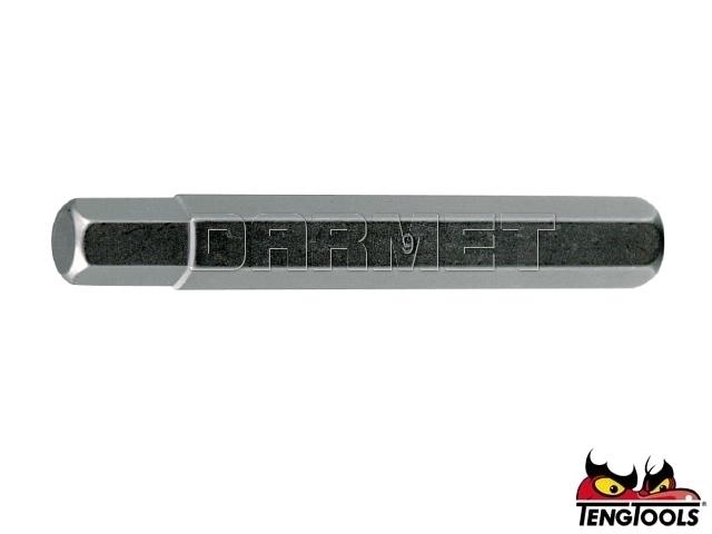 Grot przedłużony do gniazd sześciokątnych 210808 - HEX8 x 75MM - TENGTOOLS (10188-0409)
