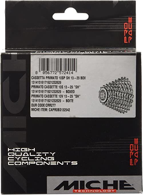 Miche k710sh1121 kaseta do roweru, srebrna