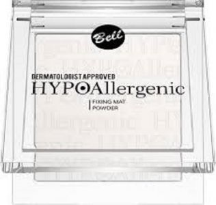 HypoAllergenic Fixing Mat Powder hypoalergiczny puder utrwalający makijaż 01 9g