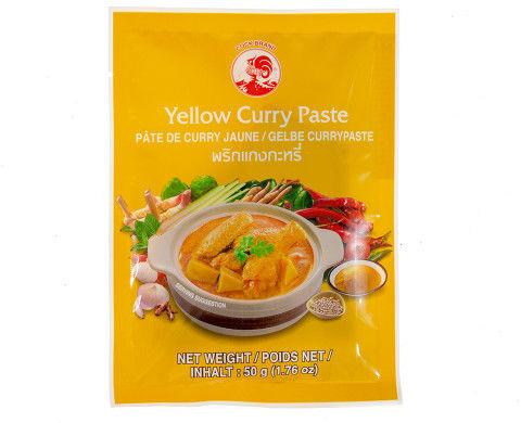 Pasta curry żółta 50G Tajlandia 4 szt.