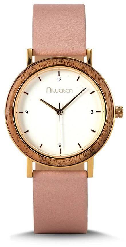 Damski zegarek Niwatch - kolekcja CLASSIC - róż