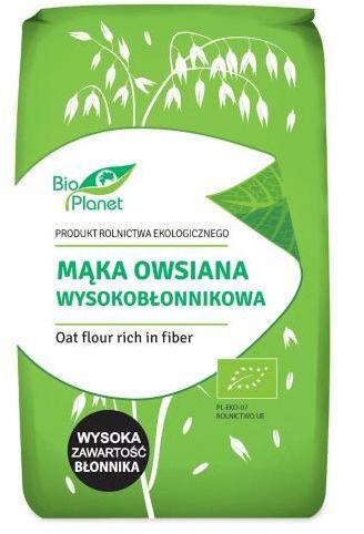 Mąka owsiana wysokobłonnikowa BIO 400g Bio Planet