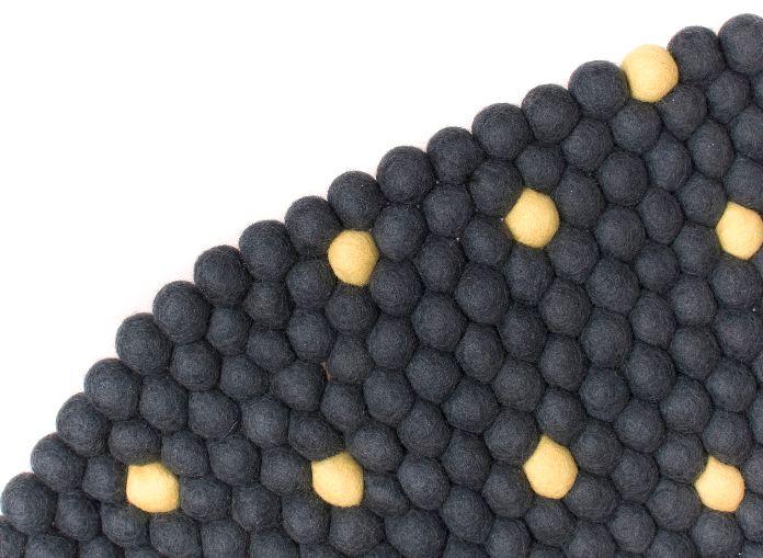 Dywan z filcowych kulek - Wulkaniczny Pył