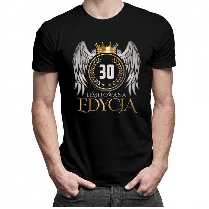 Limitowana edycja 30 lat - męska koszulka z nadrukiem