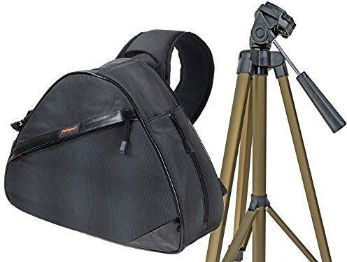 Torba na aparat fotograficzny ROLLEI FOTOPRO zestaw ze statywem do Sony Cybershot H400 HX400 RX1 RX10 RX100 Alpha 6300 6000 5100 5000