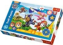 Puzzle Trefl 160 - Psi Patrol gotowi do pomocy, PAW Patrol Always ready to help