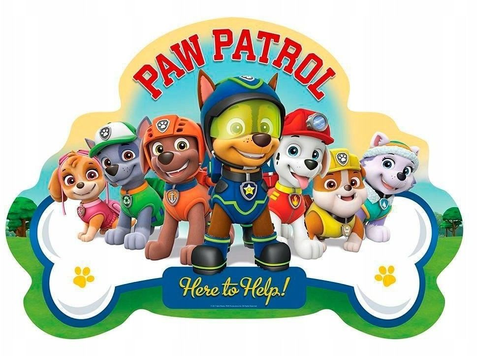 Puzzle Ravensburger 24 Gigant - Psi Patrol - Do pomocy, PAW Patrol - Here to help