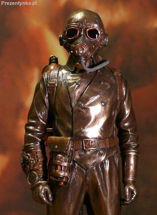 Aeronauta Steampunk prezent dla chłopaka