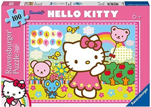 Ravensburger - Hello Kitty, 100 części puzzli
