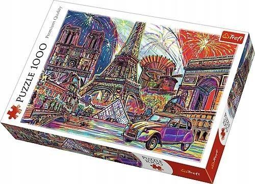 Puzzle TREFL 1000 - Kolory Paryża, Colours of Paris