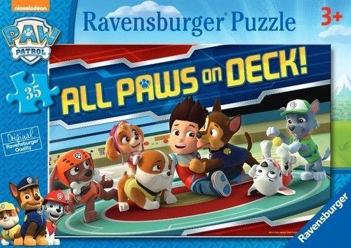 Puzzle Ravensburger 2 x 12 - Psi Patrol, PAW Patrol