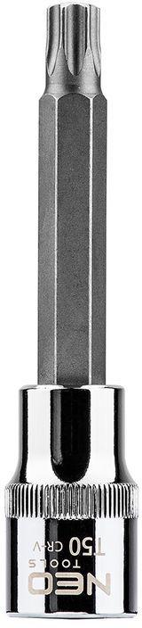Końcówka Torx na nasadce 1/2cala T50 x 100 mm 08-766