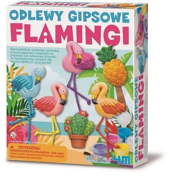 Zestaw kreatywny Odlewy Gipsowe - Flaming