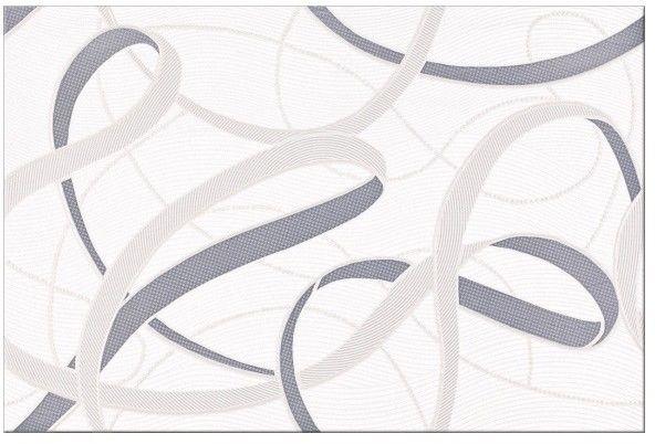 Dekor Alva Cersanit 25 x 40 cm szary