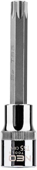 Końcówka Torx na nasadce 1/2cala T55 x 100 mm 08-767