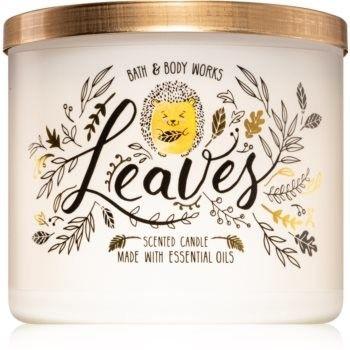 Bath & Body Works Leaves świeczka zapachowa II. 411 g
