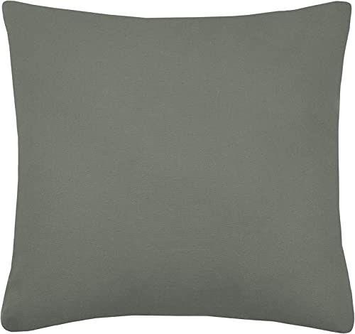 Lovely Casa Poduszka, model Duo, khaki, len, 50 x 50 cm, 100% bawełna