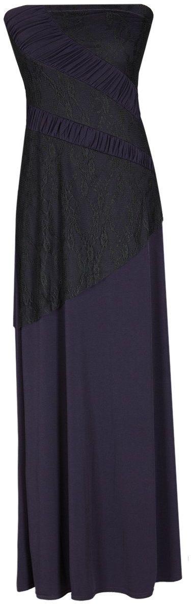 Sukienka FSU142 ŚLIWKOWY CIEMNY