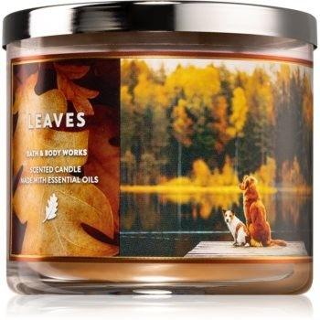 Bath & Body Works Leaves świeczka zapachowa IV. 411 g