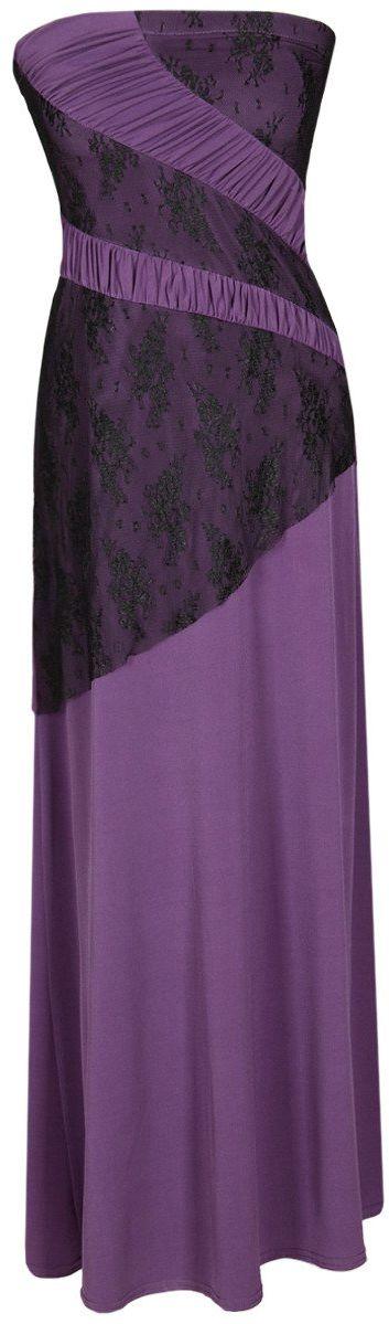 Sukienka FSU142 ŚLIWKOWY