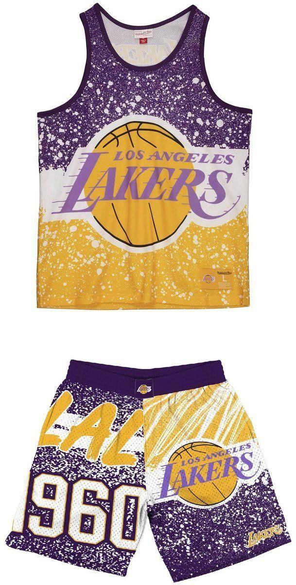Zestaw strój koszykarski Mitchell & Ness NBA Los Angeles Lakers