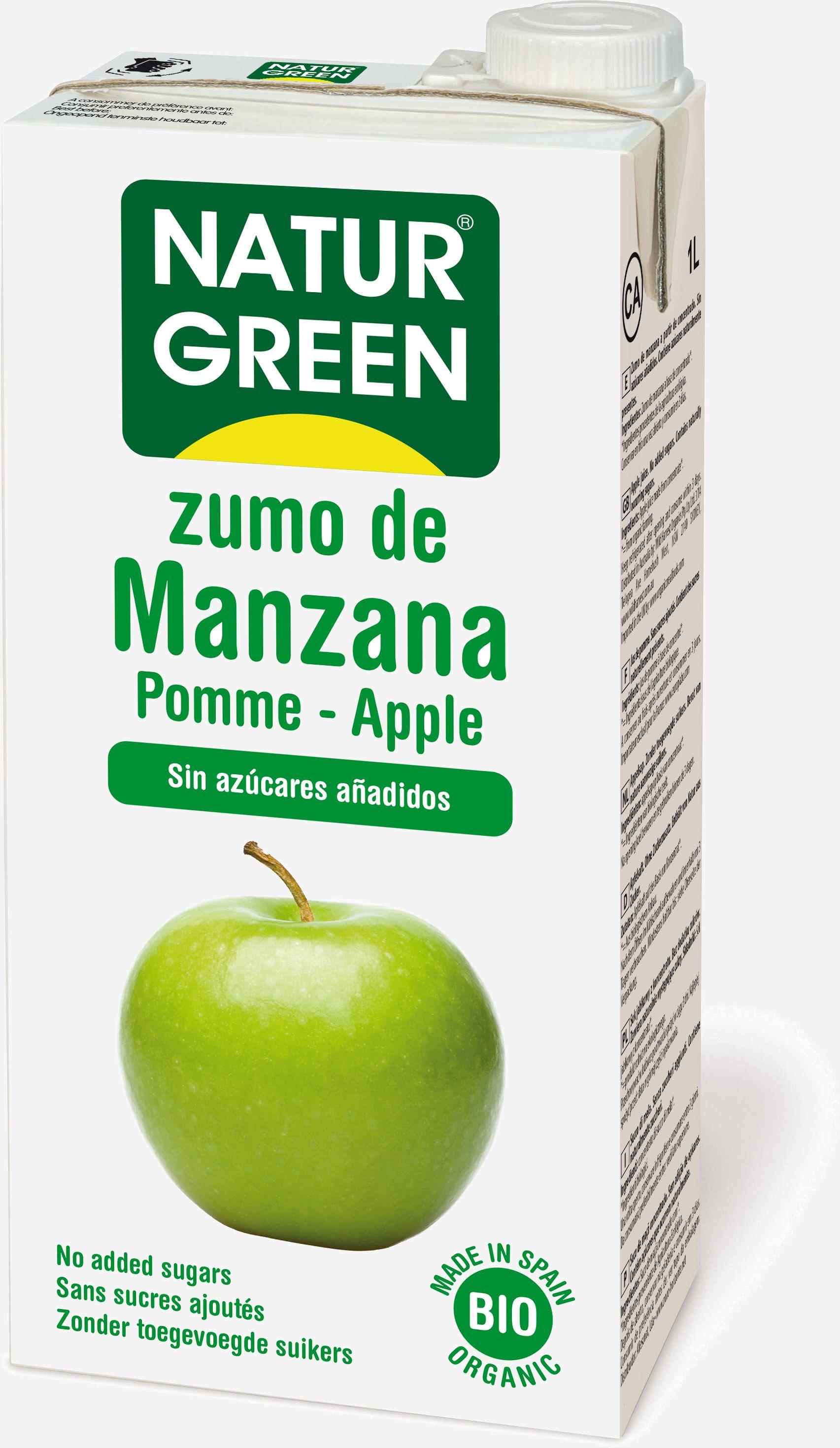 Sok jabłkowy Naturgreen 1 litr