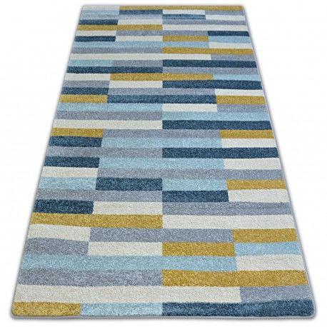 Dywan NORDIC STOCKHOLM szary/niebieski G4597 80x150 cm