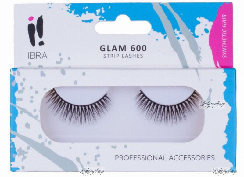 Ibra - GLAM - Sztuczne rzęsy na pasku - GLAM 600