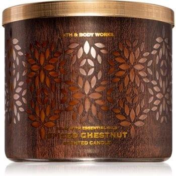 Bath & Body Works Spiced Chestnut świeczka zapachowa 411 g