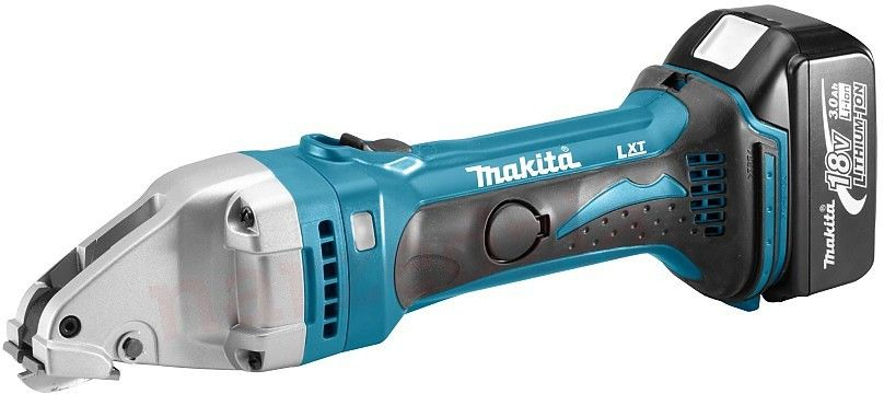 akumulatorowe nożyce do blachy, 18V Li-Ion 2x3,0Ah Makita [DJS161RFJ]
