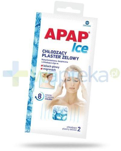 Apap Ice plaster chłodzący żelowy 2 sztuki