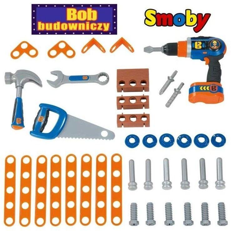 Smoby - Bob Budowniczy Mój pierwszy warsztat 360306