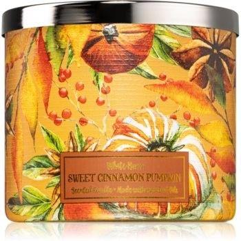 Bath & Body Works Sweet Cinnamon Pumpkin świeczka zapachowa 411 g