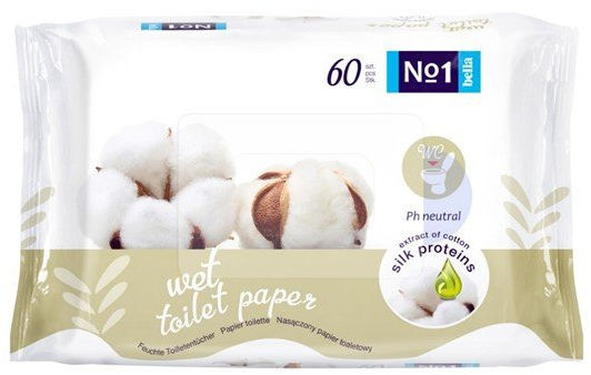 Bella Baby Happy No 1 papier toaletowy, 60 szt.