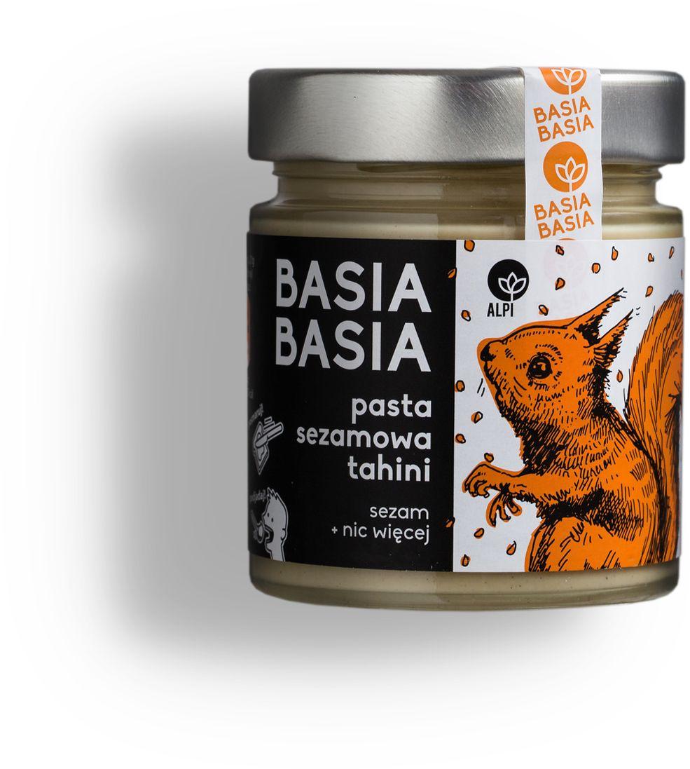 BasiaBasia Pasta Sezamowa Tahini 210g