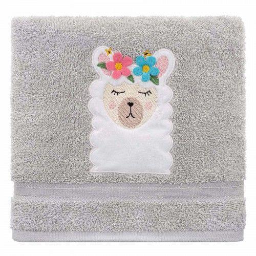 Ręcznik kąpielowy dziecięcy gruby 70x140 Lama Spod Igły i Nitki