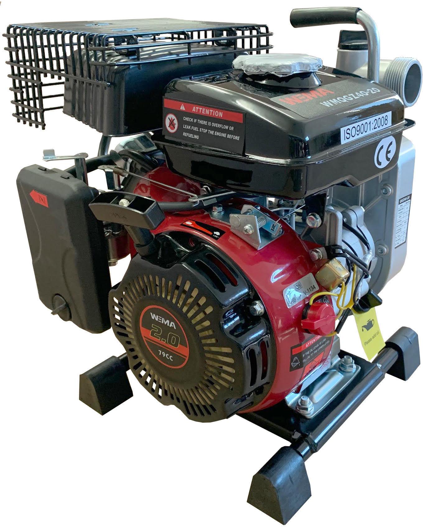 Motopompa spalinowa wysokowydajna WEIMA WMQGZ40-20 12m3/h