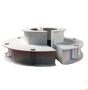 Podest do fontann czekoladowych CF112 PRO/CF135 PRO 1100x(H)340mm