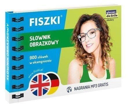 Fiszki. Słownik Obrazkowy - angielski + niemiecki - Kinga Perczyńska