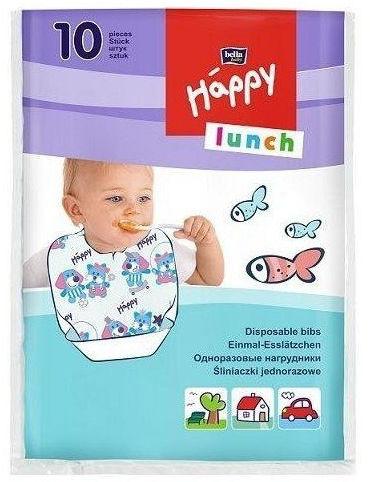 Bella Happy śliniak jednorazowy Lunch, 10 szt.