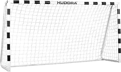 Hudora Stadion Bramka, Biały/Czarny, 300 x 160 x 90 cm
